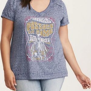 Passage In Time V-Neck Tee